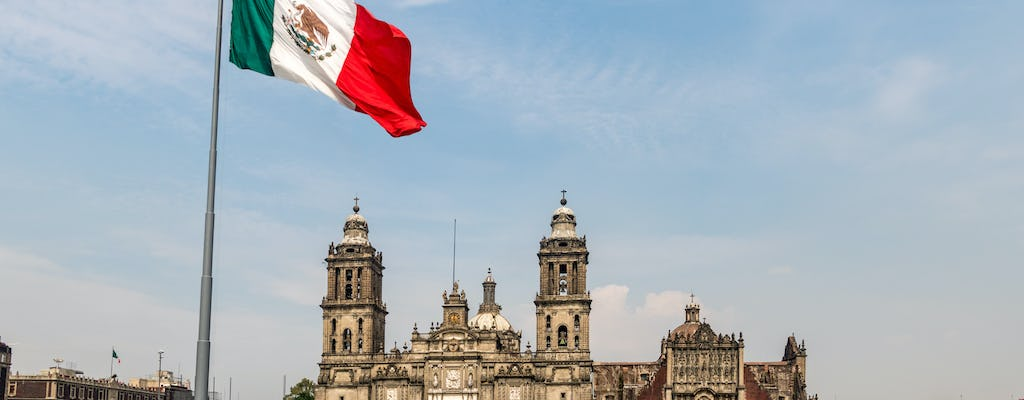 Mexico City Historic Center private walking tour