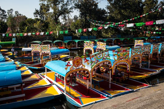 Xochimilco, Coyoacán and Frida Kahlo Museum private tour