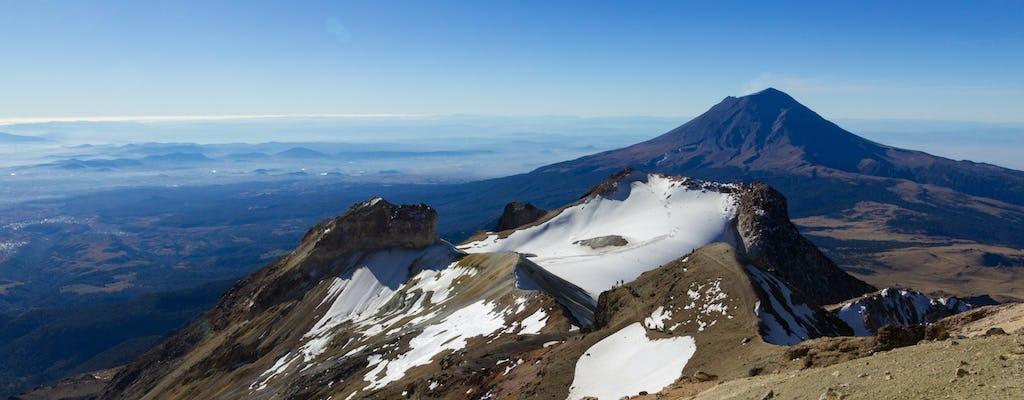 Randonnée privée du volcan Iztaccihuatl