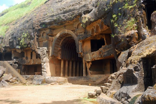 Full-day private tour of Karla and Bhaja caves from Pune