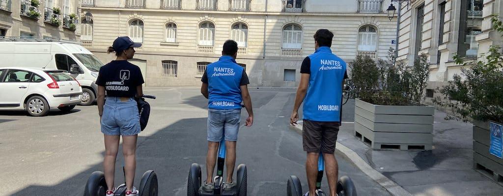 "Self-balancing scooter tour of ""the perfect getaway"" of Nantes"