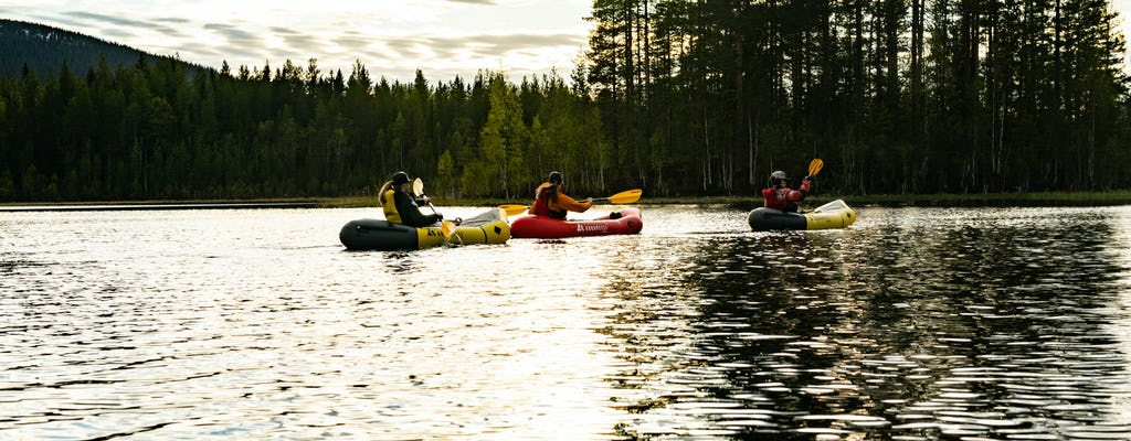 Packrafting experience around Sälen