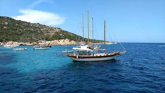La Maddalena Archipelago by Vintage Sailboat