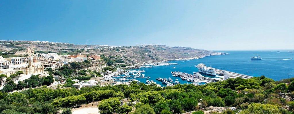 L'île de Gozo et la citadelle Victoria