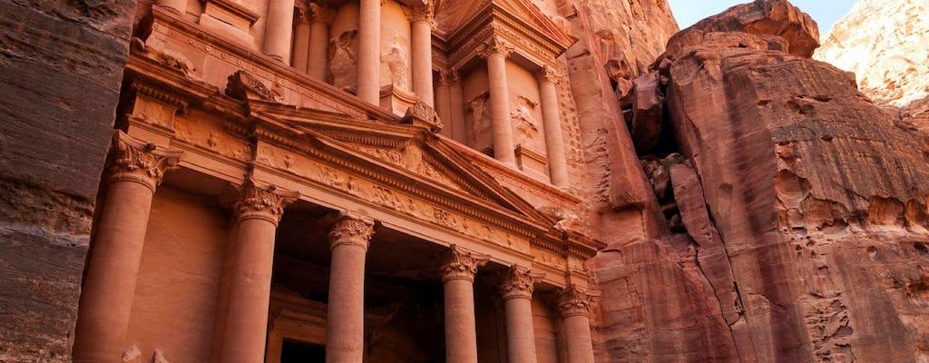 Tour grupal de día completo de Petra desde Aqaba
