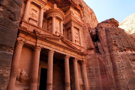 Tour em grupo de dia inteiro em Petra saindo de Aqaba