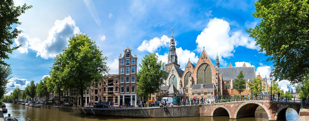 Wandeltocht van een halve dag door Amsterdam door de stad