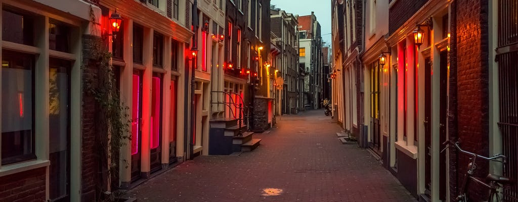 Distrito privado da luz vermelha de Amsterdã e tour gastronômico