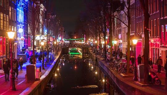 Prywatna wycieczka po dzielnicy czerwonych latarni w Amsterdamie, w tym Muzeum Seksu