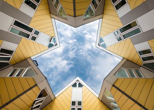 Passeio privado a pé pela arquitetura de Rotterdam