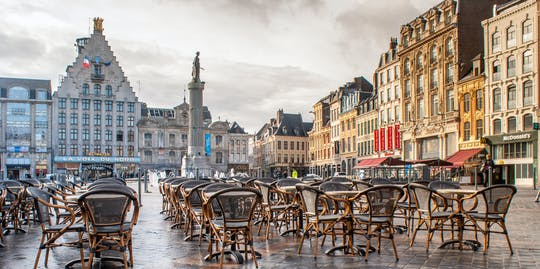 Spaceruj i odkrywaj Lille, korzystając ze szlaku miejskiego z przewodnikiem