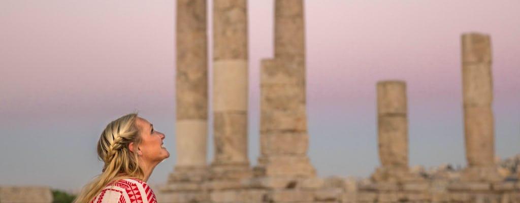 Tour privado de día completo por la antigua y moderna Amman