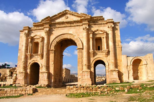 Visite privée d'une journée à Jerash et Ajloun au départ d'Amman