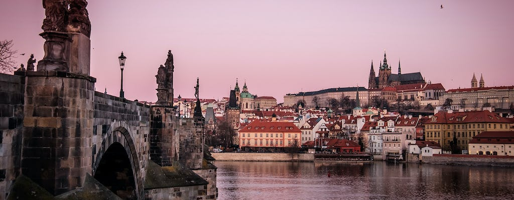 Private photography tour past the famous city landmarks of Prague