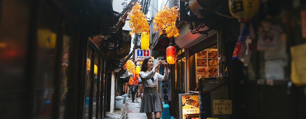 Wycieczka kulinarna Shinjuku Golden Gai w języku hiszpańskim