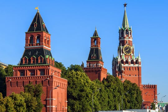 Walking tour from the Kremlin to Zaryadye in Moscow