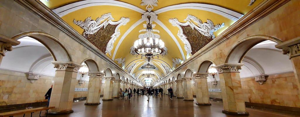 Tour para descobrir as 7 maravilhas do metrô de Moscou
