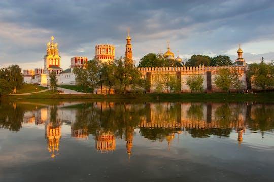 Zwiedzanie starożytnego klasztoru Nowodziewiczy i jego nekropolii z Moskwy