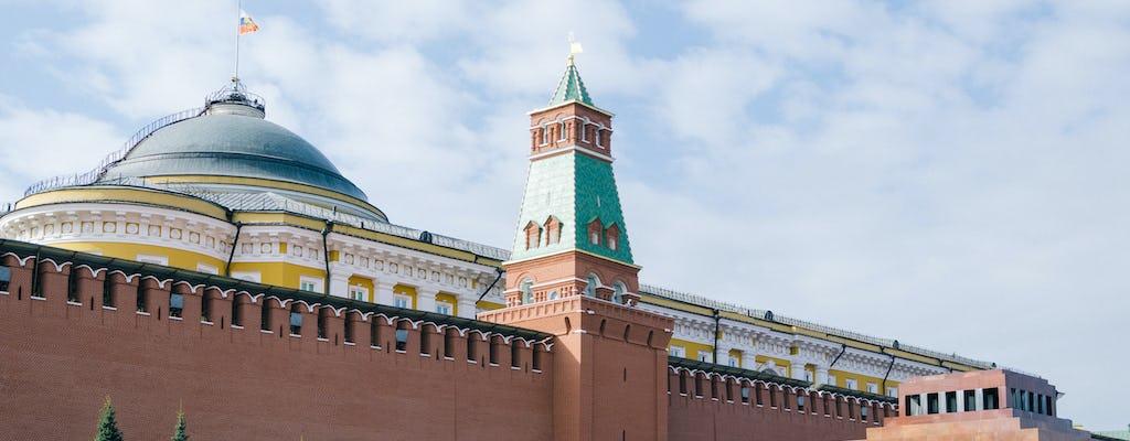 Passeio a pé pelas paredes do Kremlin, da Praça Vermelha ao Jardim Alexandre