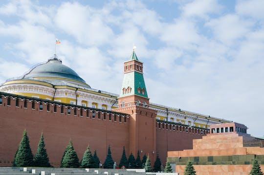 Wycieczka piesza po murach Kremla z Placu Czerwonego do Ogrodu Aleksandra