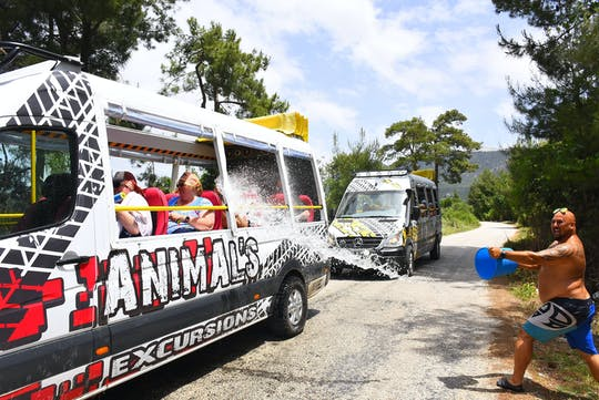 Visite Wet & Wild avec Animal's à Fethiye