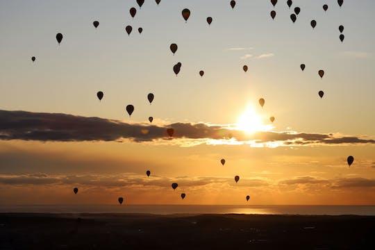 Tour en montgolfière avec transfert