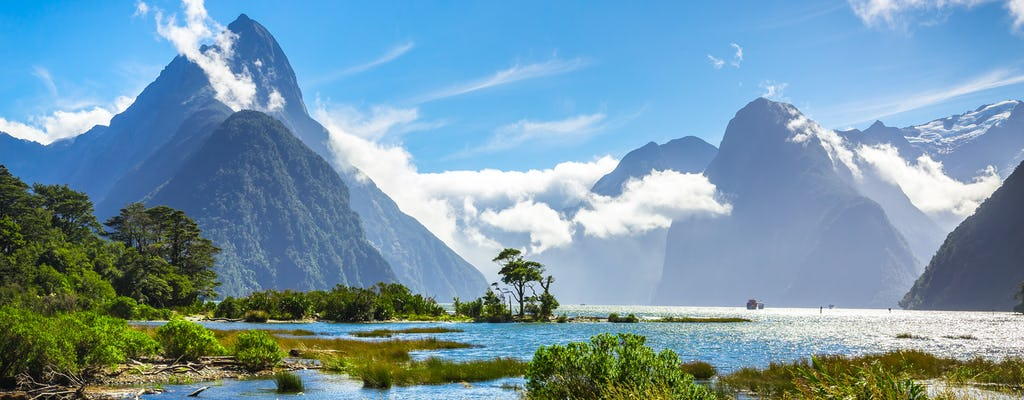 Milford Sound small-group tour with picnic lunch from Queenstown (return trip)