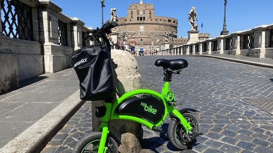 E-bike tour with Castel Sant'Angelo audio guide