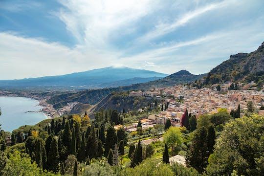 Taormina en de Etna tot 2900m