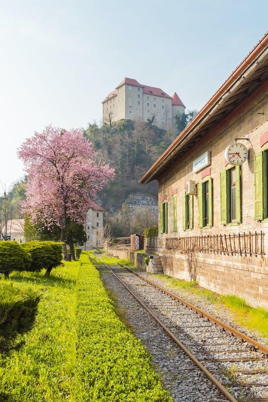 Dagtrip naar kasteel Rajhenburg met chocolade en wijn uit Bled