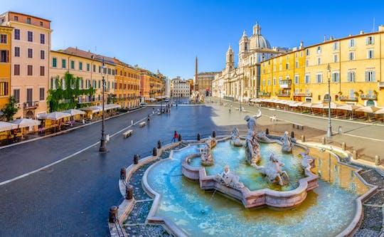 Tour guiado em bicicleta elétrica pelas principais atrações de Roma