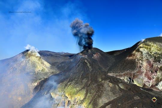 Craters of Etna trekking