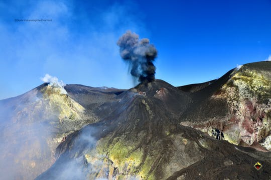 Expérience de trekking des cratères de l'Etna