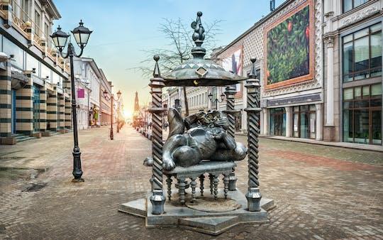 Seja um convidado do gato de Kazan, passeio a pé por Kazan