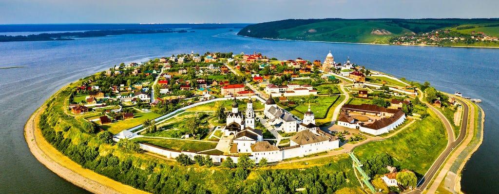 Tour naar de eilandstad Sviyazhsk met observatie van de Universele Tempel