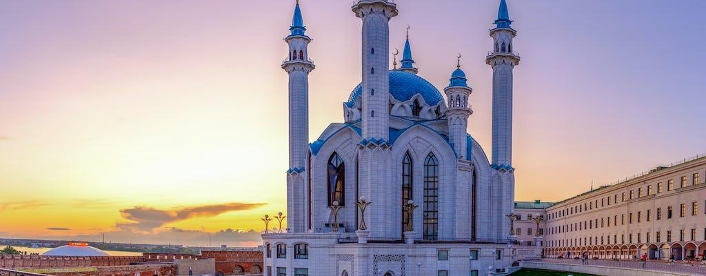 Passeio a pé pelos minaretes e cúpulas de Kazan