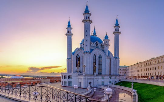 Walking tour of the minarets and domes of Kazan
