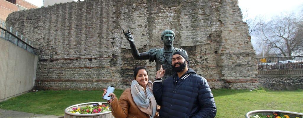 Prywatna wycieczka po rzymskim i średniowiecznym Londynie