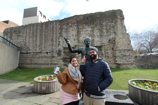 Roman and Medieval London private tour