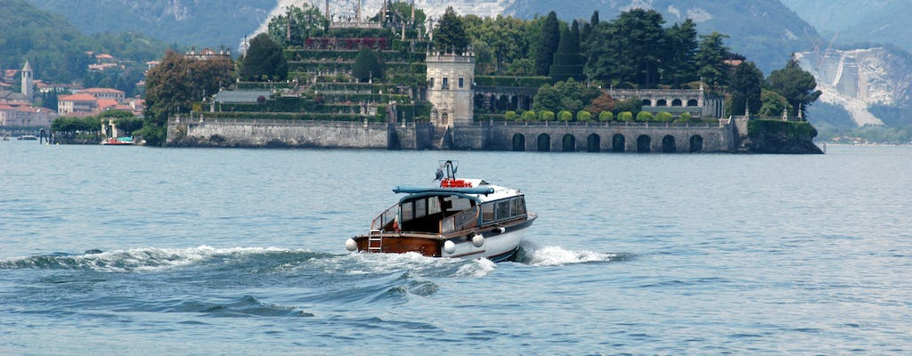 Private Taxi Boat service with visit of 1 of the Borromean Islands of your choice