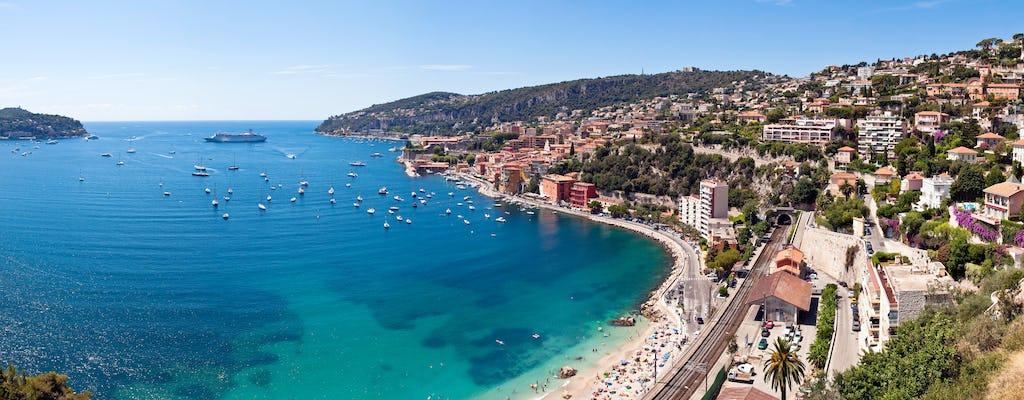 Viagem particular para Cannes e Antibes saindo dos portos de Nice ou Villefranche