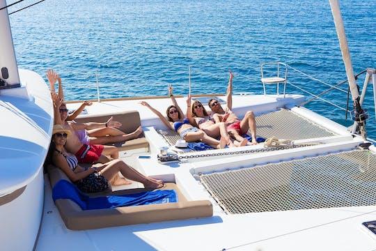 Premium Catamaran Sailing Experience from Santorini
