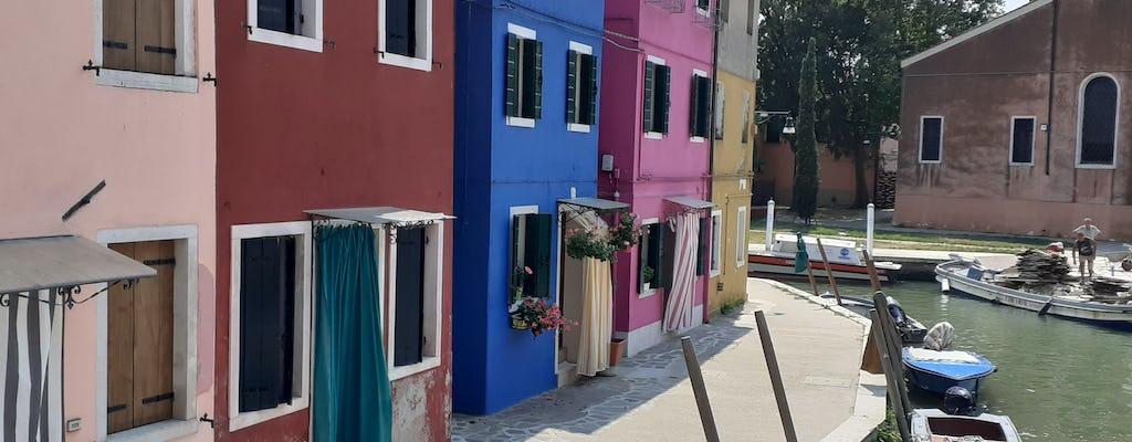 Prywatna wycieczka na Murano i Burano na pokładzie typowej motorówki