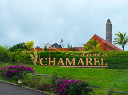 Eintrittskarte für die Rhumerie de Chamarel