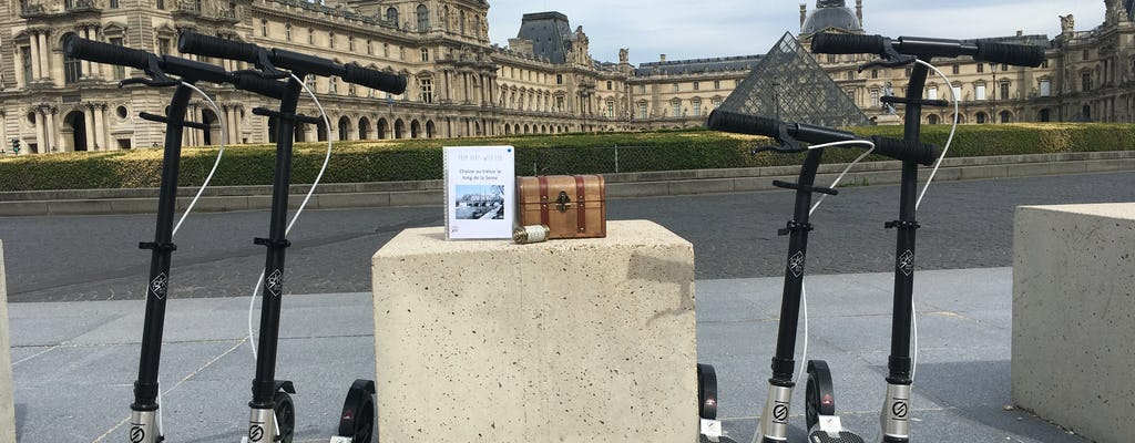 Treasure Hunt on a non-electric Scooter in Paris