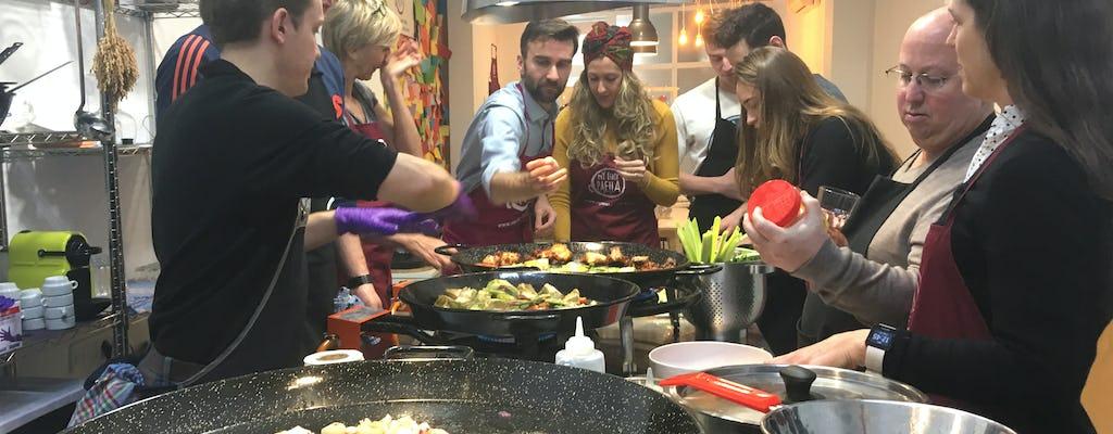 Lekcje gotowania paelli z owocami morza i wizyta na rynku w Ruzafa
