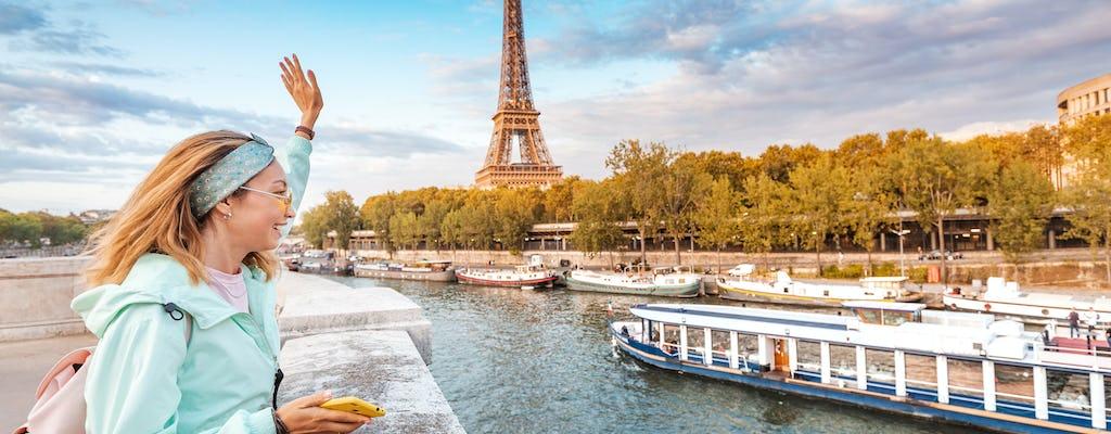 Cruzeiro com jantar e bilhetes para o 2º andar da Torre Eiffel