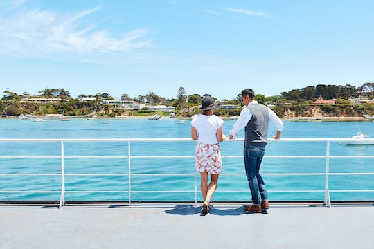Mornington Peninsula sightseeing and Bay cruise