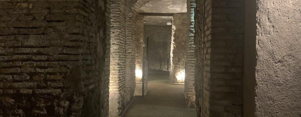 Piazza Navona underground - Bilhetes exclusivos para a rota do Estádio de Domiciano
