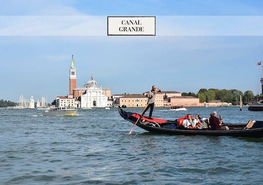 Charming Private gondola ride on Grand Canal